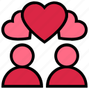 couple, heart, hearts, love, marriage, romance, valentine's day