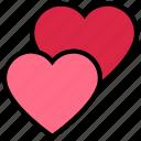 heart, hearts, like, love, romance, valentine's day