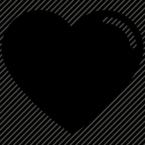 heart, like, love, romance, valentine's day icon
