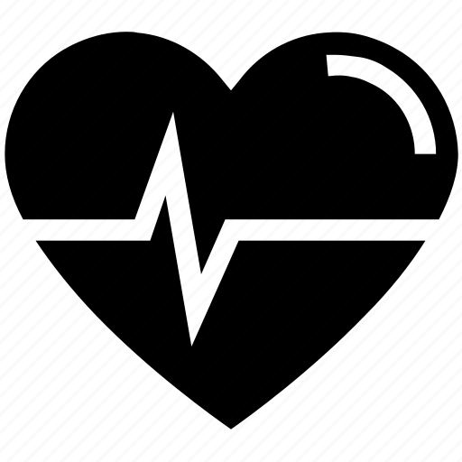 beat, entertainment, heart, heartbeat, medical, pulse, valentine's day icon
