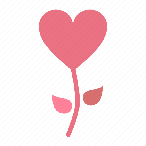 Blossom, flower, heart, romance, rose, valentines icon - Download on Iconfinder