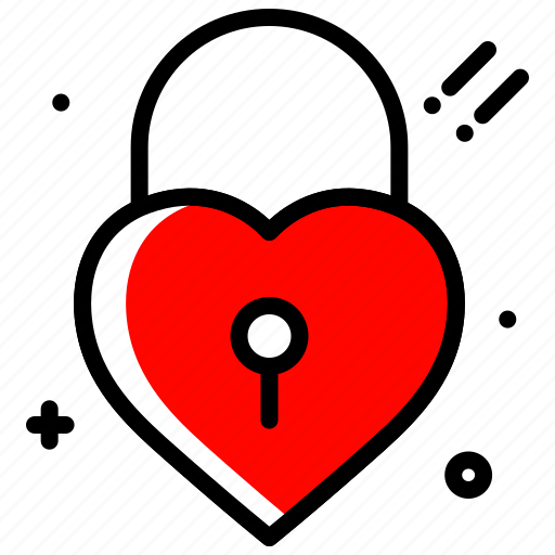 heart, lock, love, party, valentines day, wed lock icon