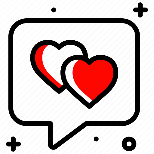 chat, communication, conversation, greeting, love, message icon