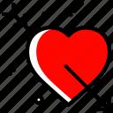 arrow, heart, love, proposal, valentines day, wedding