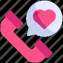 call, communication, love, phone, romance, telephone, valentine