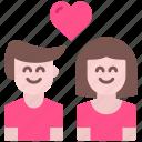 couple, heart, love, man, romance, valentine, woman