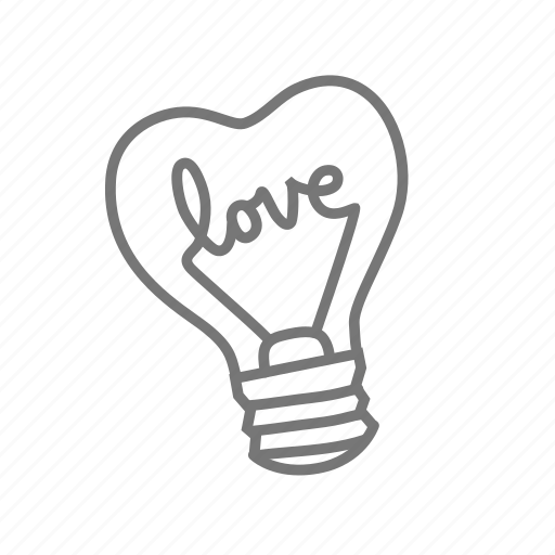 couple, heart, lamp, love, valentine, valentine's icon