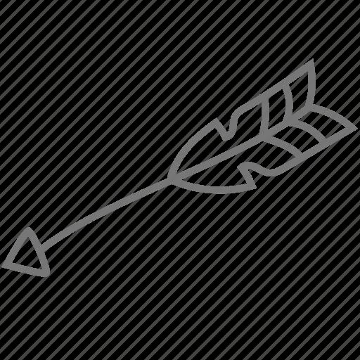 arrow, love, valentine, valentine's icon