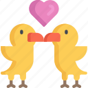 animal, birds, february, love, valentines
