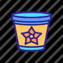 coffee, container, flower, ingredient, spicy, stick, vanilla icon