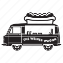 delivery, food, transport, transportation, truck, van icon