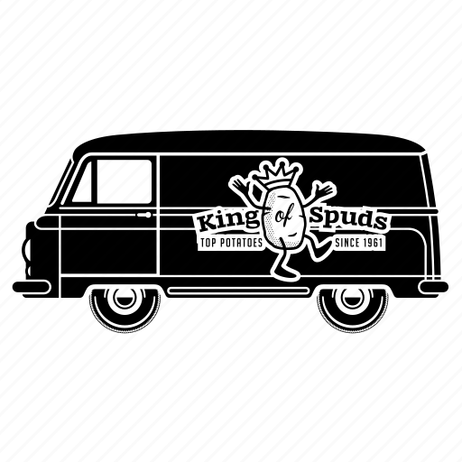 delivery, food, transport, transportaion, truck, van icon