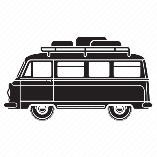 camper, delivery, holiday, transport, truck, van icon