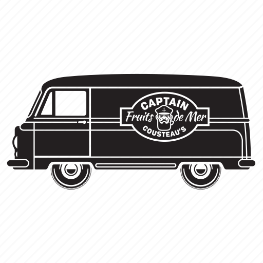 delivery, food, holiday, transport, truck, van icon
