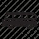 camper, delivery, police, road trip, truck, van icon