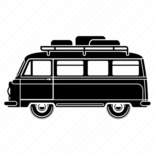 camper, holiday, rv, truck, van icon