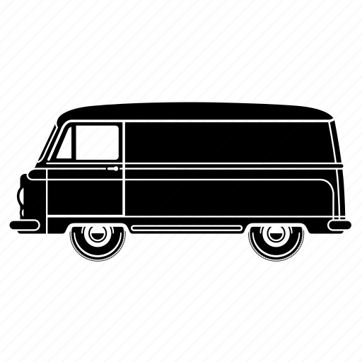 delivery, transportaion, truck, van icon