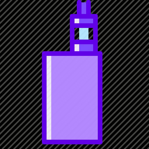 box, mod, vape icon