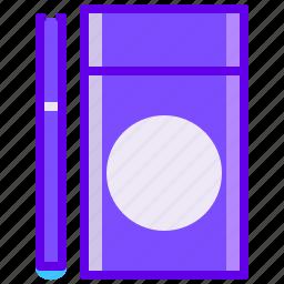 cigarette, disposable, electronic, vape icon