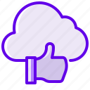 cloud, like, liquid, normal icon