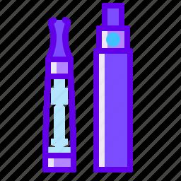 e cigarette, pen, vape icon