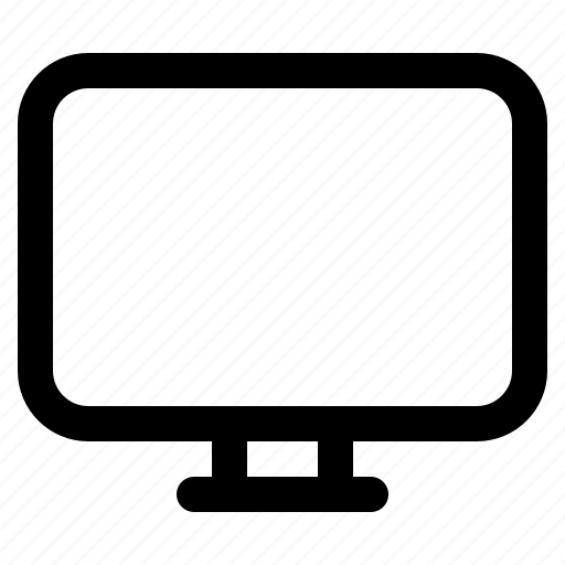 computer, desktop, device, display, screen icon