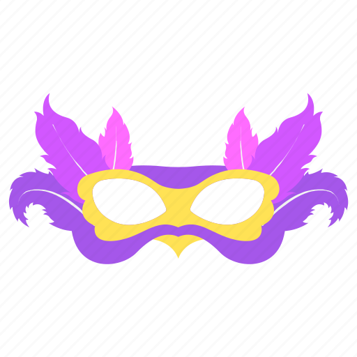 carnival, feathers, mardigras, mask icon