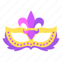 carnival, mardigras, mask icon