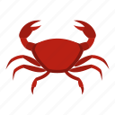 animal, claw, crab, crustacean, ocean, sea, seafood