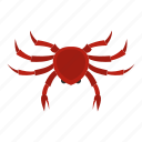 animal, claw, crab, crustacean, ocean, sea, seafood icon