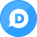 comment, disqus, website icon