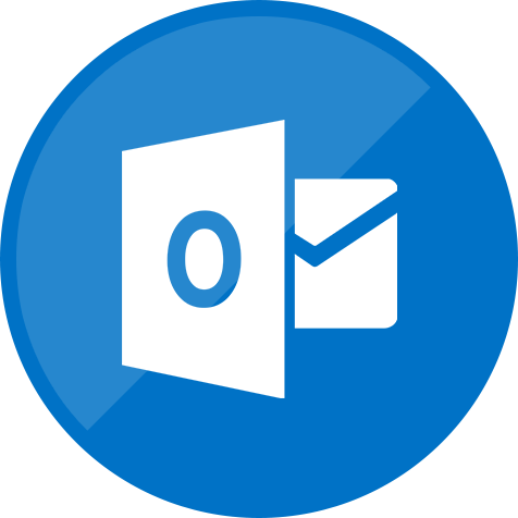 email, mail, outlook, website icon