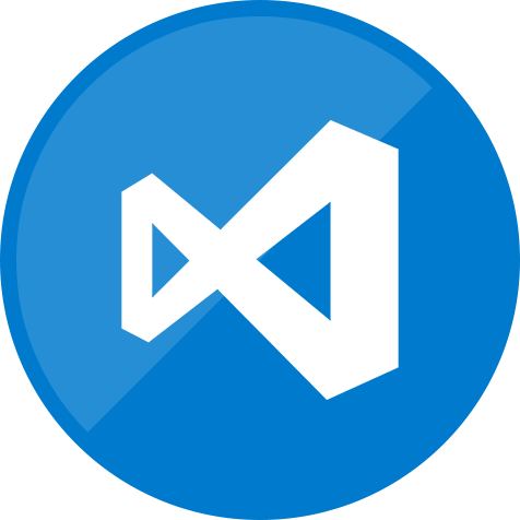 code, editor, microsoft, programming, visual icon