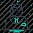 business, dealer, marketeer, monger, salesman, vender, vendor icon