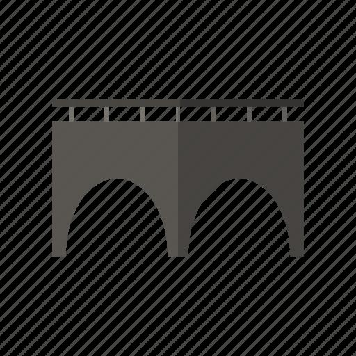 bridge, building, construction, river, sea icon