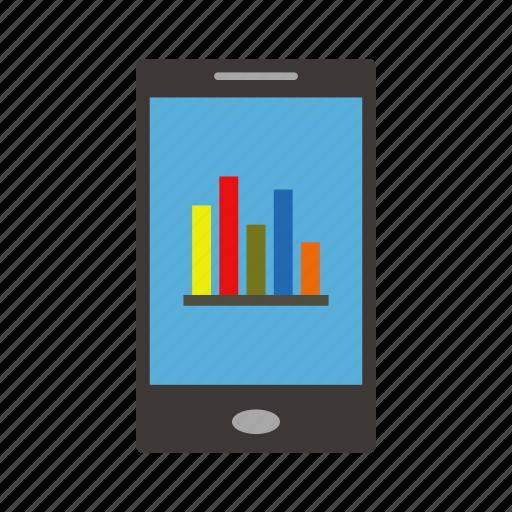 analytics, business, finance, graph, office, statistics icon