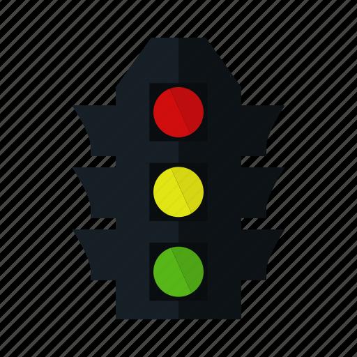 business, idea, lamp, light, online, road, traffic icon