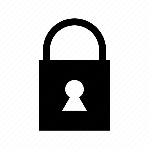 lock, padlock, protection, secure, security, shield icon