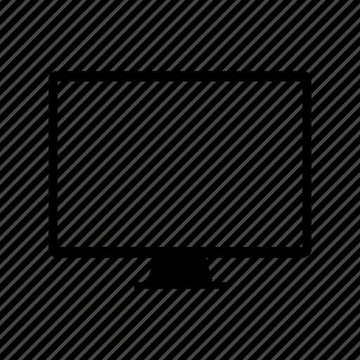 computer, display, hardware, laptop, monitor, screen icon