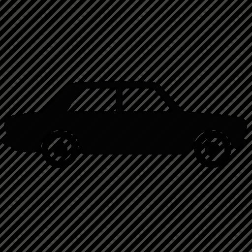 avtovaz, car, filed, lada, line, side, vehicle icon