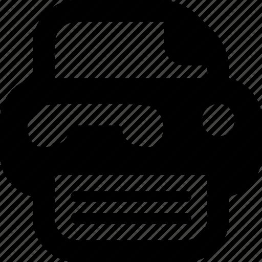 fax, fax-machine icon