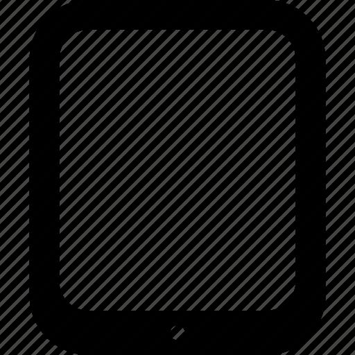apple, device, ipad, tablet icon
