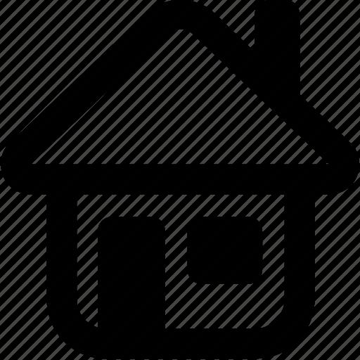 home, house, hut, villa icon