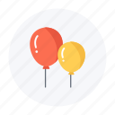 balloon, celebration, festival, fun, holiday, kids icon