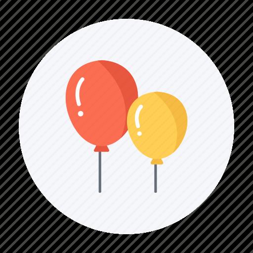 balloon, celebration, festival, fun, holiday, kids, party icon