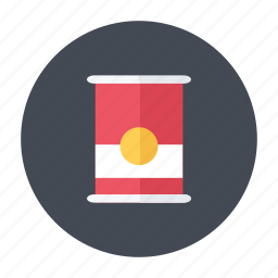 can, chips, food, grocery icon