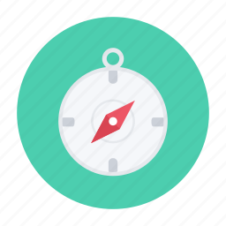 compass, direction, lost, map, orientation, travel icon