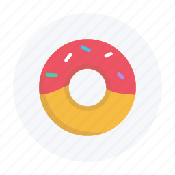 donut, food, grocery, police, snack, sweet icon