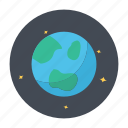 earth, globe, night, planet, space
