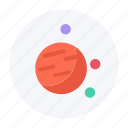 astronomy, jupiter, outer space, planet, saturn, space, spaceship icon